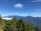 2019/10/23~28雪山西稜:往三六九山莊途中遠眺