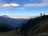2019/10/23~28雪山西稜:三六九山莊遠眺