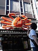200809京阪行-DAY1:道頓堀螃蟹地標