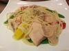 清炒燻鮭魚義大利麵$170