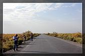 20081011  南彊大漠帕米爾/塔克拉瑪干大沙漠/輪台-塔中-民豐:2.沙漠公路起點.jpg