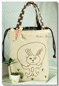 Redwork:運動兔兔餐袋.jpg
