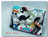 短夾,夾包:海賊王旗幟。卡夾零錢包01.jpg