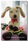 ~2013.09 手作品集。鉤針編織:毛線玩偶。長耳兔小雷.jpg