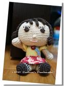 ~2013.09 手作品集。鉤針編織:毛線玩偶。時髦娃.jpg