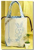Redwork:跆拳道兔兔餐袋.jpg