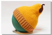 鉤針(非玩偶)作品:柚子帽.jpg