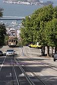 舊金山漁人碼頭、金門大橋散散步:好厲害的斜坡..