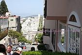舊金山漁人碼頭、金門大橋散散步:花街上的房子都好高檔