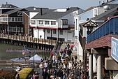 舊金山漁人碼頭、金門大橋散散步:假日人還真不少