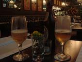 水鳥22~法式小館:DSC00142招待的鳳棃啤酒.jpg