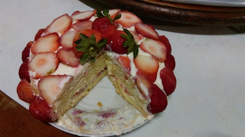 IMAG1563.jpg - 草莓優格乳酪蛋糕