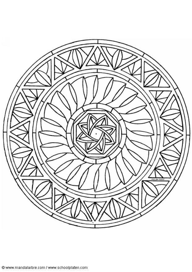 Mandala 013 Jpg 曼陀羅著色稿 小嘟嘟的相簿 隨意窩 Xuite 相簿