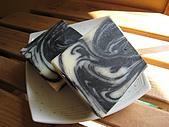 手工皂:竹碳渲染皂