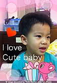 我家的小 Q Q:cute baby.JPG