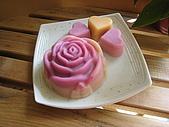 手工皂:鮮奶皂(玫瑰花模)