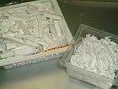 手工皂矽膠模:切碎的矽膠廢條