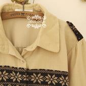 120919:lj013阿米良品2012潮流新款女裝正品翻領複古長袖開衫襯衫1.jpg