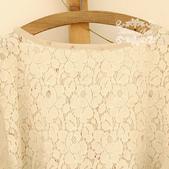 120919:lj010阿米良品秋裝森系可愛拼接簡約大氣長袖圓領高貴連衣裙2.jpg