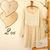 120919:lj010阿米良品秋裝森系可愛拼接簡約大氣長袖圓領高貴連衣裙5.jpg