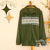 120919:lj013阿米良品2012潮流新款女裝正品翻領複古長袖開衫襯衫5.jpg