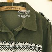 120919:lj013阿米良品2012潮流新款女裝正品翻領複古長袖開衫襯衫6.jpg