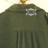 120919:lj013阿米良品2012潮流新款女裝正品翻領複古長袖開衫襯衫7.jpg