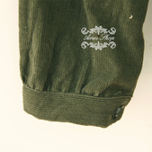 120919:lj013阿米良品2012潮流新款女裝正品翻領複古長袖開衫襯衫9.jpg