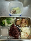 二水國小107學年度四月份營養午餐菜色:1080430.jpg
