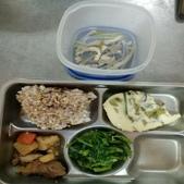 109年1月午餐菜色:9