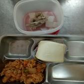 109年1月午餐菜色:8