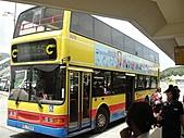 香港澳門自由行 day1 20100808:04 搭巴士到東涌 1