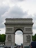 2009/6/26-29@Paris:凱旋門頂上好多觀光客唷