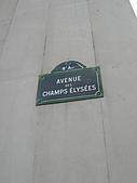 2009/6/26-29@Paris:巴黎標準門牌:8區香榭大道(和小飄的小窩在同一區)