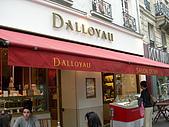 2009/6/26-29@Paris:來到這邊當然不是只拍照,因為這邊有一家巴黎內行人才知道的Dalloyau甜點