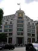 2009/6/26-29@Paris:帶媽咪逛香榭大道上的Louis Vuitton旗艦店