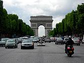 2009/6/26-29@Paris:正前方就是凱旋門