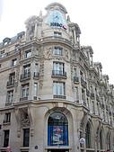 2009/6/26-29@Paris:和LV旗艦店比起來,我更喜歡旁邊的HSBC的新藝術建築(銀行也要這麼美嗎)