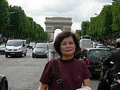 2009/6/26-29@Paris:媽咪與凱旋門