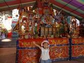 玉相宮入火安座大典:新廟前的臨時祭壇