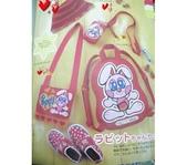 不織布大包包區:紅色ok蹦兔子包包