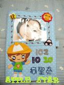 不織布各種保護套寶寶手冊:可愛小男孩寶寶手冊