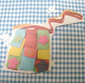 不織布大包包區:拼布式斜背包