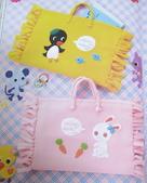 不織布大包包區:企鵝+小兔手提袋