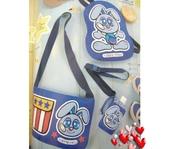不織布大包包區:藍色ok蹦兔子包包