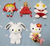 不織布娃娃:星座女孩 鹹蛋超人茉莉兔