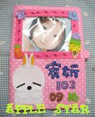 不織布各種保護套寶寶手冊:賤兔寶寶手冊