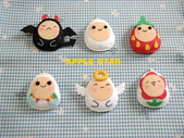不織布娃娃:蛋蛋家族