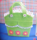 不織布大包包區:蘋果綠浪漫包包