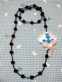 不織布髮夾/髮束/耳環/戒指/項鍊:海軍風項鍊